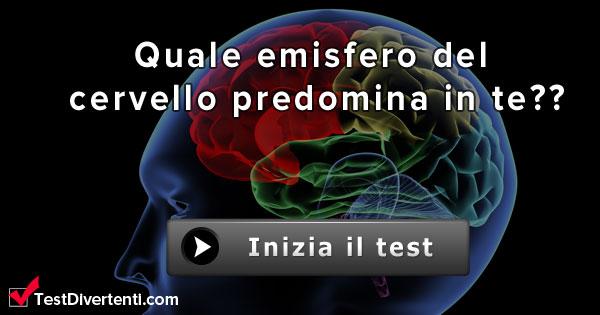 Quale emisfero del cervello predomina in te test divertenti for Cerco cose gratis